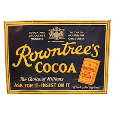 Rowntree's Cocoa Sign