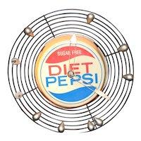 Diet Pepsi Light Up Clock