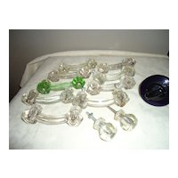 Vintage Liberty Glass Drawer Pulls/Handles