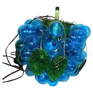 Glass Grape Cluster Hanging Lamp