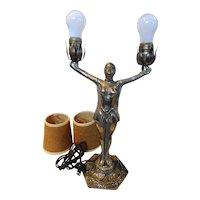 Joan Of Arc Lamp