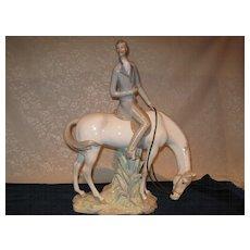 Very Rare Lladro Horseman #1037