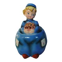 Lefton Dutch Boy Cookie Jar