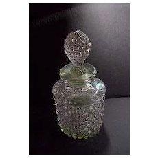 Vintage Duncan Miller Hobnail Perfume Bottle /Decanter