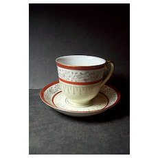 Regal China demitasse cup & saucer- Made in Occupied Japan