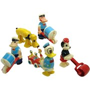 Pluto, Popeye, Minnie Mouse, Donald Duck Ramp Walkers