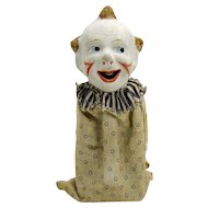 German Composition Comical Squeeze Toy - 1910