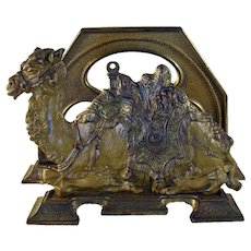 Cast Iron Camel Letter Holder