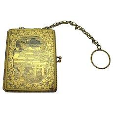 Asian Compact & Cigarette Case Combination - 1910