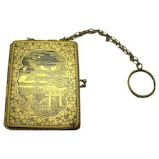 Asian Compact & Cigarette Case Combination - 1910