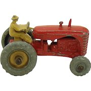 Lesney of England Matchbox Massey Harris Tractor Toy - 1950's