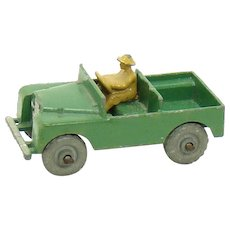 Lesney of England Matchbox Land Rover Toy - 1950's