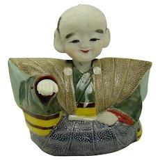 Asian Bisque Nodder Figurine