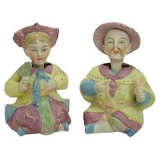 Asian Bisque Nodders (Pair)