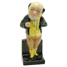Royal Doulton Mister Pickwick Porcelain Figurine - Charles Dickens