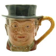Beswick England Mister Pickwick Porcelain Toby Mug - Charles Dickens