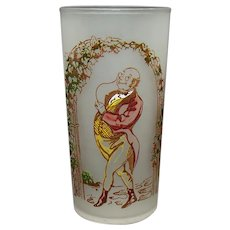 Mister Pickwick Hand Painted Satin Tumbler - Charles Dickens