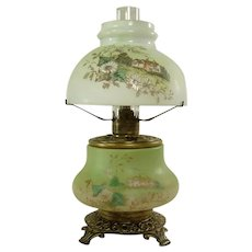Rare Trenton Junior Gone with The Wind Kerosene Lamp - 1880's