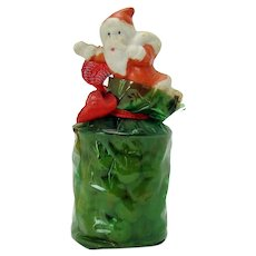 Bisque Santa Claus Candy Container - 1920's