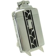 Early Ronson De-light Supercase Lighter and Cigarette Holder  Combination