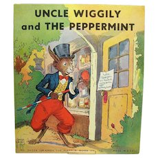 Uncle Wiggly and The Peppermint Childrens Book - 1939