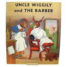 Uncle Wiggly and The Barber Childrens Book - 1939