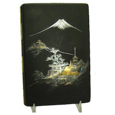Asian Mixed Metals Cigarette Case with Gold and Silver Inlay - 1910