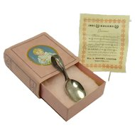 Rogers Silver Plated Baby Spoon - Mint in Presentation Box - 1920's