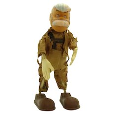 Marx Geppetto Bendy Toy - Walt Disney Productions