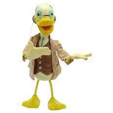 Marx Ludwig Von Drake Bendy Toy - Walt Disney Productions