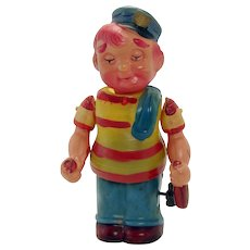 Celluloid Drunken Sailor Wind-up Toy - Near Mint - Occupied Japan