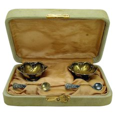 Sterling Salts and Spoons - Mint in Box