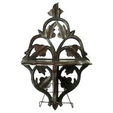 Black Walnut Folding Shelf - 1880's