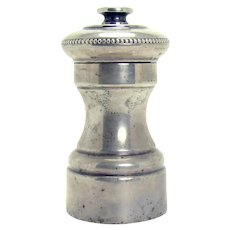 French Sterling Pepper Mill - 1930's