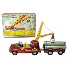 Electromagne Crane Truck Friction Toy - Mint in Box (Scarce)