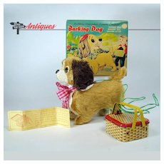 Remote Control Barking Dog Battery-Operated Toy - Mint in Box
