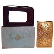 Elgin American Art Deco Ladies Carry-all - Mint in Box