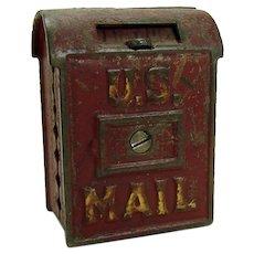 U.S. Mail Cast Iron Still Bank