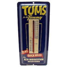 Tums Advertising Thermometer - Near Mint