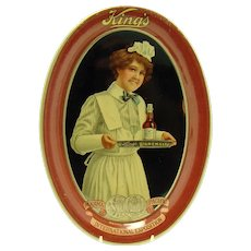Kings Advertising Tip Tray - Near Mint