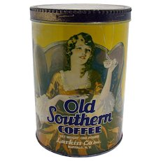 Old Southern Coffee Tin - Larkin Company Buffalo, NY