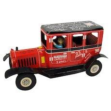 Linemar Tin Jalopy Friction Toy