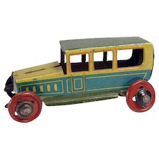 Tin Penny Toy Car - Excellent Condition