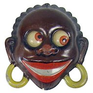 Tin Black Memorabilia Pull-Toy - Made in Germany