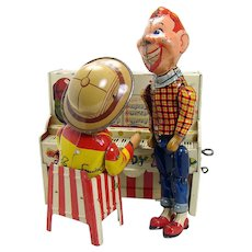 Unique Art Howdy Doody & Bob Piano Wind-up Toy - Near mint