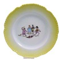 Palmer Cox Brownies Porcelain Plate - c. 1900