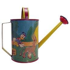Walt Disney Enterprises Donald Duck Watering Can