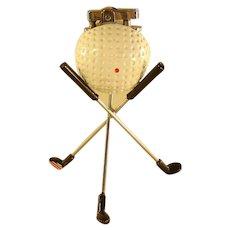 Golf Ball and Clubs Lighter