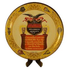 Welsbach Advertising Tip Tray