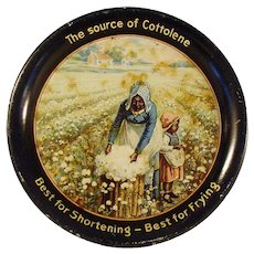 Fairbank Company Cottolene Advertising Tip Tray
